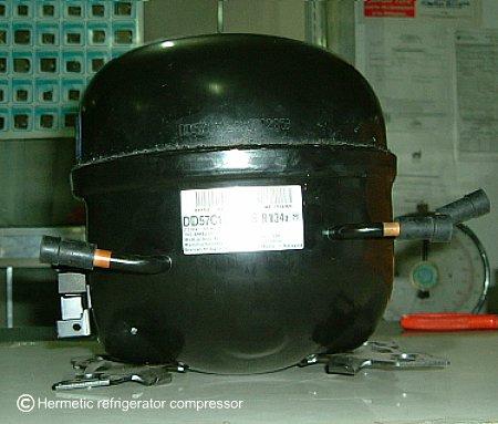 Removing/installing Compressor