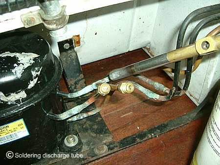 Brazing Discharge