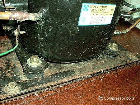 Installing Compressor Bolts