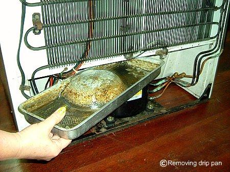 Removing Drain Pan