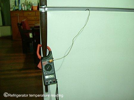 Refrigerator Temperature Testing