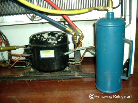 Removing Freon