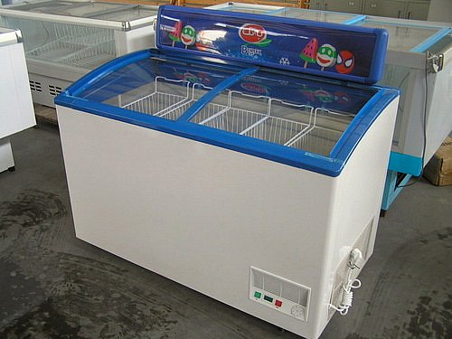 Sliding Door Freezer